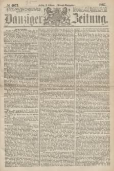 Danziger Zeitung. 1867, № 4073 (8 Februar) - (Abend=Ausgabe.)