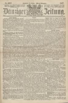 Danziger Zeitung. 1867, № 4087 (16 Februar) - (Abend=Ausgabe.)