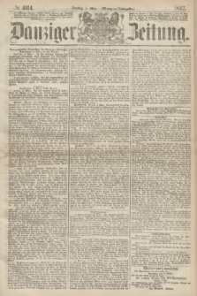 Danziger Zeitung. 1867, № 4114 (5 März) - (Morgen=Ausgabe.)