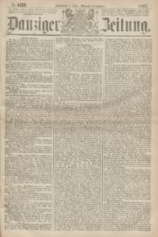Danziger Zeitung. 1867, № 4123 (9 März) - (Abend=Ausgabe.) + dod.