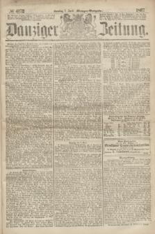 Danziger Zeitung. 1867, № 4172 (7 April) - (Morgen=Ausgabe.)