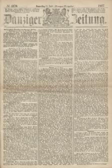 Danziger Zeitung. 1867, № 4178 (11 April) - (Morgen=Ausgabe.)