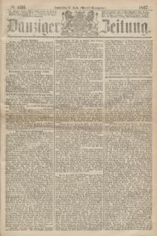 Danziger Zeitung. 1867, № 4191 (18 April) - (Abend=Ausgabe.)