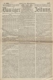 Danziger Zeitung. 1867, № 4201 (26 April) - (Abend=Ausgabe.)