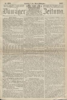 Danziger Zeitung. 1867, № 4211 (2 Mai) - (Abend=Ausgabe.)