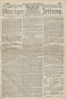 Danziger Zeitung. 1867, № 4214 (4 Mai) - (Morgen=Ausgabe.)