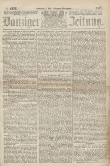 Danziger Zeitung. 1867, № 4222 (9 Mai) - (Morgen=Ausgabe.)