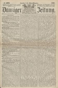 Danziger Zeitung. 1867, № 4223 (9 Mai) - (Abend=Ausgabe.) + dod.