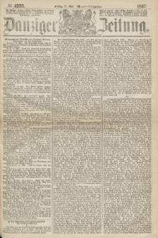 Danziger Zeitung. 1867, № 4235 (17 Mai) - (Abend=Ausgabe.) + dod.