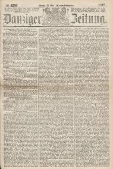 Danziger Zeitung. 1867, № 4239 (20 Mai) - (Abend=Ausgabe.) + dod.