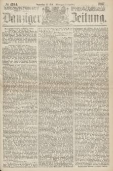 Danziger Zeitung. 1867, № 4244 (23 Mai) - (Morgen=Ausgabe.)