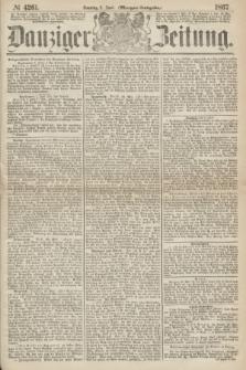 Danziger Zeitung. 1867, № 4261 (2 Juni) - (Morgen=Ausgabe.)