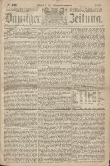 Danziger Zeitung. 1867, № 4311 (3 Juli) - (Morgen=Ausgabe.)