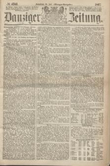 Danziger Zeitung. 1867, № 4341 (20 Juli) - (Morgen=Ausgabe.)