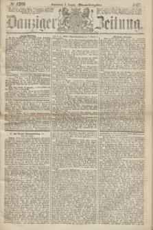 Danziger Zeitung. 1867, № 4366 (3 August) - (Abend=Ausgabe.) + dod.