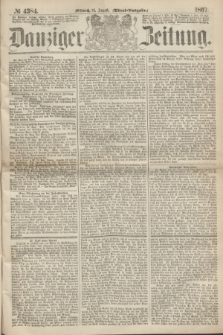 Danziger Zeitung. 1867, № 4384 (14 August) - (Abend=Ausgabe.)