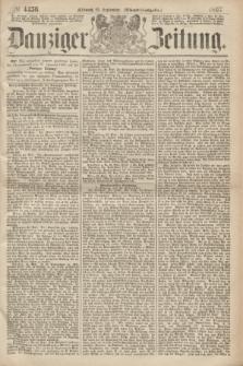 Danziger Zeitung. 1867, № 4456 (25 September) - (Abend=Ausgabe.)