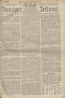 Danziger Zeitung. 1867, № 4485 (12 October) - (Morgen=Ausgabe.)