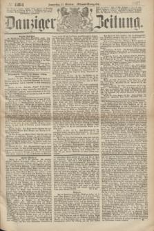 Danziger Zeitung. 1867, № 4494 (17 October) - (Abend=Ausgabe.)
