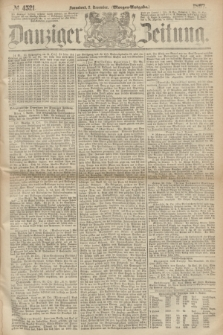 Danziger Zeitung. 1867, № 4521 (2 November) - (Morgen=Ausgabe.)