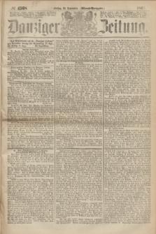 Danziger Zeitung. 1867, № 4568 (29 November) - (Abend=Ausgabe.)