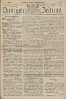 Danziger Zeitung. 1867, № 4606 (21 December) - (Abend=Ausgabe.) + dod.