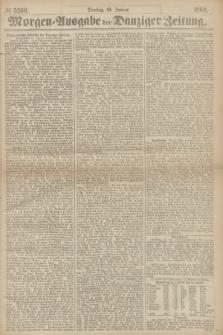 Morgen=Ausgabe der Danziger Zeitung. 1869, № 5260 (19 Januar)