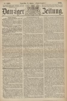Danziger Zeitung. 1869, № 5265 (21 Januar) - (Abend-Ausgabe.)