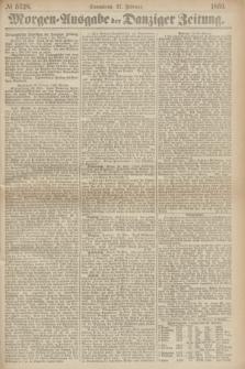 Morgen=Ausgabe der Danziger Zeitung. 1869, № 5328 (27 Februar)