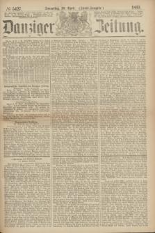 Danziger Zeitung. 1869, № 5427 (29 April) - (Abend-Ausgabe.)