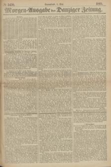 Morgen=Ausgabe der Danziger Zeitung. 1869, № 5430 (1 Mai)