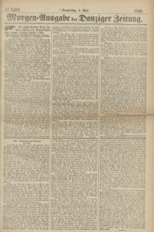 Morgen=Ausgabe der Danziger Zeitung. 1869, № 5438 (6 Mai)