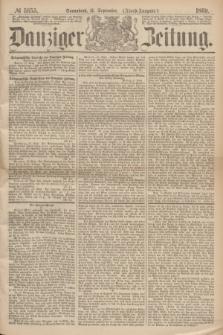 Danziger Zeitung. 1869, № 5655 (11 September) - (Abend-Ausgabe.)