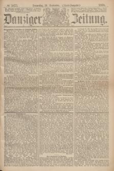 Danziger Zeitung. 1869, № 5675 (23 September) - (Abend-Ausgabe.)