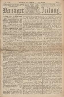 Danziger Zeitung. 1869, № 5679 (25 September) - (Abend-Ausgabe.)