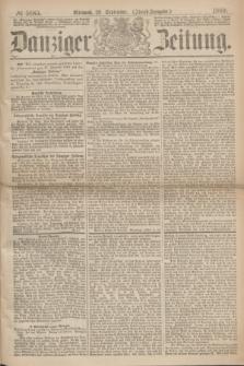Danziger Zeitung. 1869, № 5685 (29 September) - (Abend-Ausgabe.)