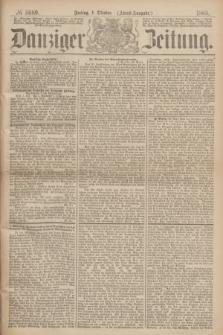 Danziger Zeitung. 1869, № 5689 (1 October) - (Abend-Ausgabe.)