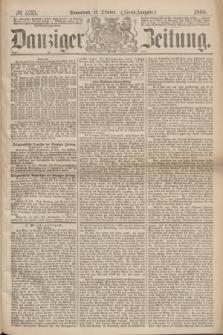 Danziger Zeitung. 1869, № 5715 (16 Oktober) - (Abend-Ausgabe.)