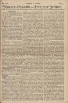 Morgen=Ausgabe der Danziger Zeitung. 1869, № 5738 (30 Oktober)