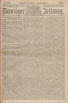 Danziger Zeitung. 1869, № 5775 (20 November) - (Abend-Ausgabe.)