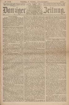Danziger Zeitung. 1869, № 5819 (16 Dezember) - (Abend-Ausgabe.) + dod.