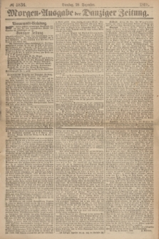 Morgen=Ausgabe der Danziger Zeitung. 1869, № 5836 (28 Dezember)