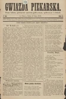 Gwiazda Piekarska : pismo ludowe, poświęcone sprawom politycznym, społecznym ioświecie. 1889, nr60