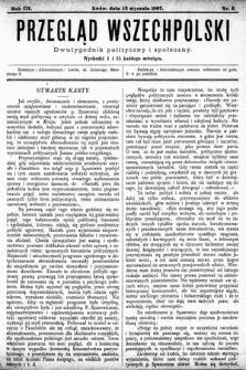 Przegląd Wszechpolski : dwutygodnik polityczny ispołeczny. 1897, nr2