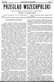 Przegląd Wszechpolski : dwutygodnik polityczny ispołeczny. 1897, nr4