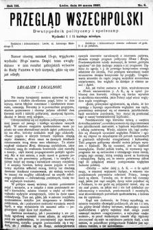 Przegląd Wszechpolski : dwutygodnik polityczny ispołeczny. 1897, nr6