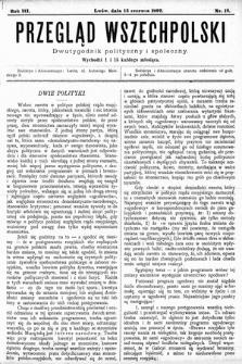 Przegląd Wszechpolski : dwutygodnik polityczny ispołeczny. 1897, nr12