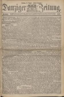 Danziger Zeitung. 1875, № 9266 (10 August) - (Abend-Ausgabe.)