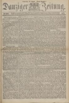 Danziger Zeitung. 1875, № 9294 (26 August) - (Abend-Ausgabe.)