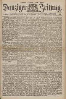 Danziger Zeitung. 1875, № 9478 (11 Dezember) - (Abend-Ausgabe.) + dod.